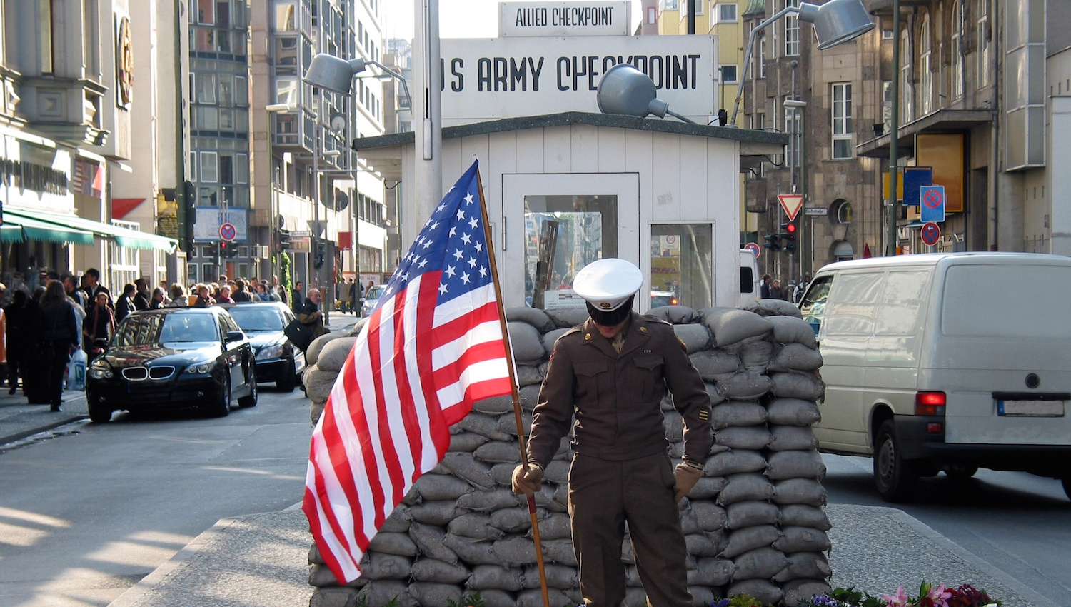 The Berlin Wall and Checkpoint Charlie