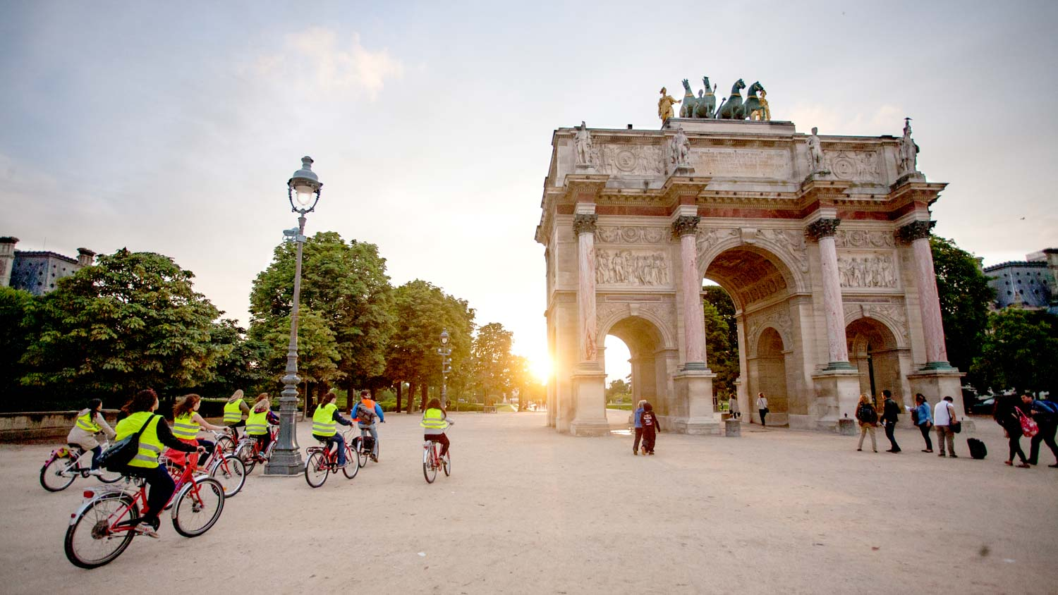 It's the second Arc de Triomphe in Paris