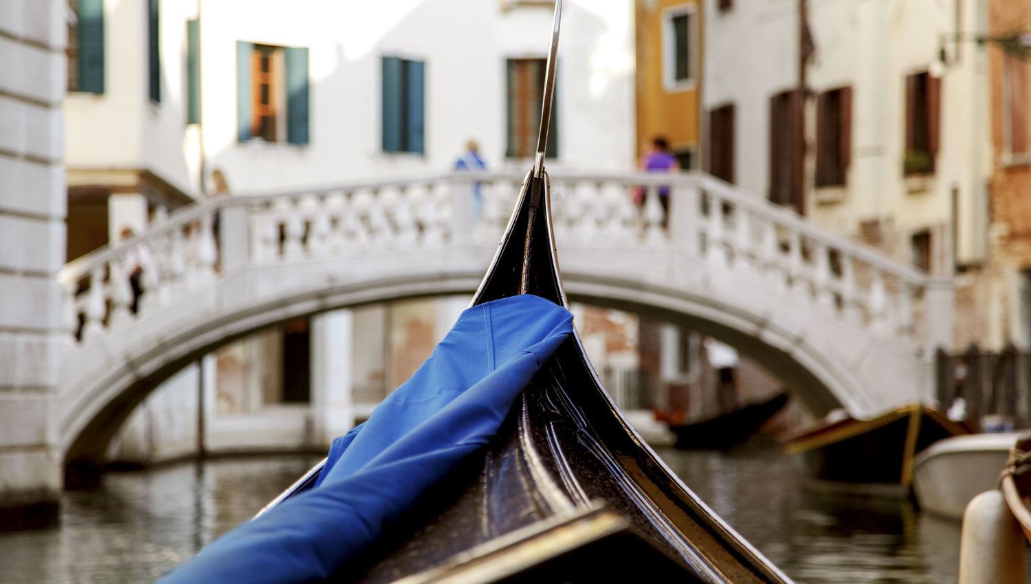 It only recently got its first female gondolier...