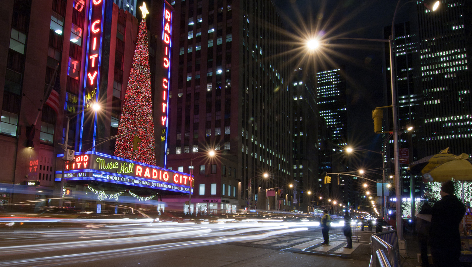 Enjoy the Radio City Christmas Spectacular
